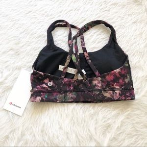 NWT Lululemon Energy Floral Sports Bra